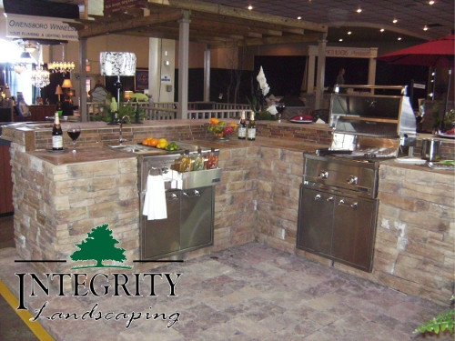 Wrap-Around Style Kitchen Display at Home Show