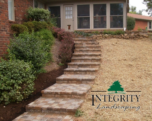 Long Paver Steps