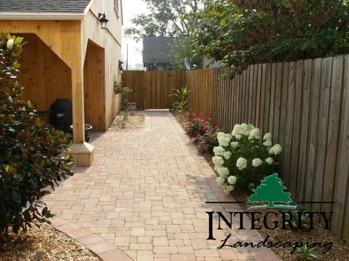Paver Courtyard