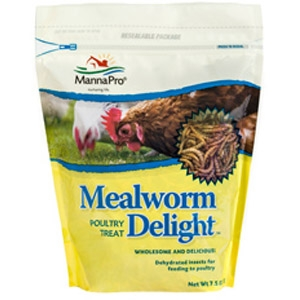 Mealworm Delight™ Poultry Treat