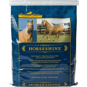 Omega Fields Horseshine Equine Supplement