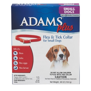 Adams Plus Flea & Tick Collar for Dogs & Cats