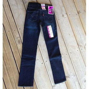 Levi's Slim Straight Jeans for Girls
