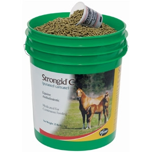 Strongid® C Daily Horse Dewormer