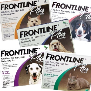 Frontline Plus® Flea & Tick for Dogs & Cats
