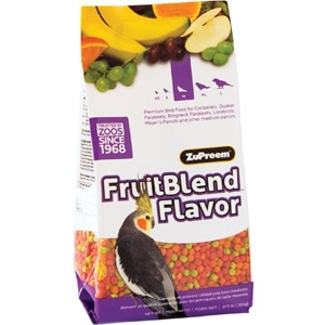 ZuPreem® FruitBlend™ Premium Bird Food
