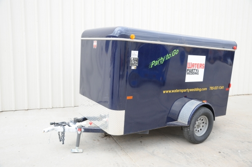 Trailer, Enclosed, 2, SGL Axel, 5x8