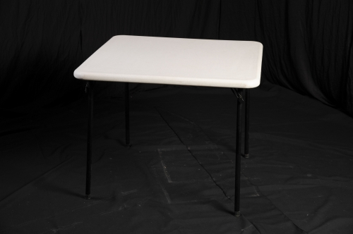 Table, Small, White