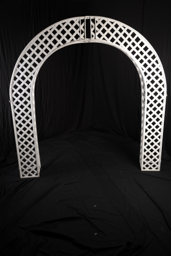 Lattice Arch, White