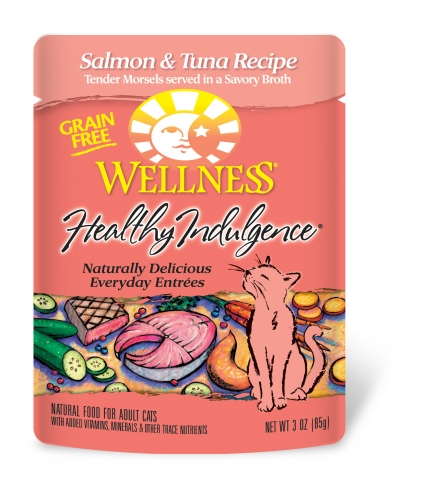 Wellness Healthy Indulgence Salmon/Tuna 3Z