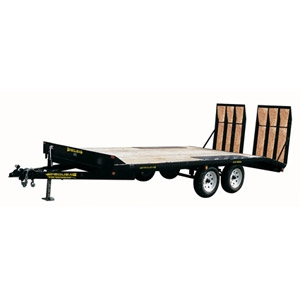 Large Equipment, deckover Trailer